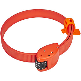 OTTOLOCK Cinch Lock Bike Lock 45 cm orange